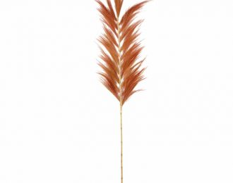 Tropische hooipluim koper 230cm