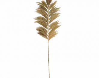 Tropische hooipluim naturel 230cm