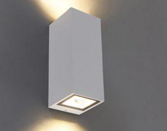 Moderne wandlamp wit 16 cm hoog