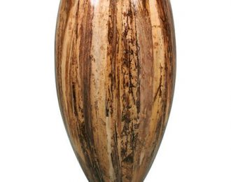 Pot 'Banana' bruin ⌀48 cm H90 cm