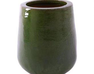 Pot 'Bep' olijfgroen ⌀54 cm H65 cm