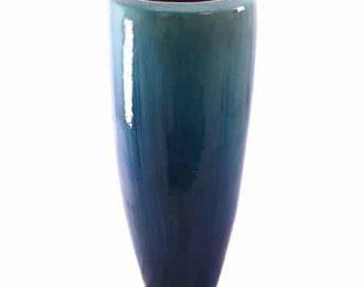 Pot 'Klaas' turqouise ⌀50 cm H120 cm