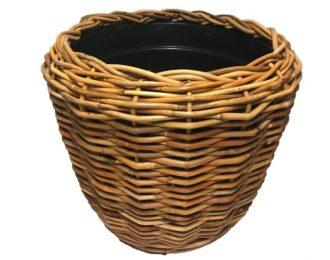 Drypot platenmand naturel rond ⌀83 cm en 61 cm hoog