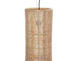 Lampenkap van webbing langwerpig ⌀ 30 cm en 60 cm hoog