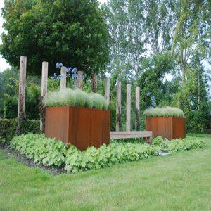 Outdoor plantenbakken