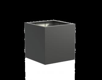 Plantenbak 'Buxus' van Adezz vierkant H100 cm