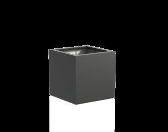 Plantenbak 'Buxus' van Adezz vierkant H80 cm