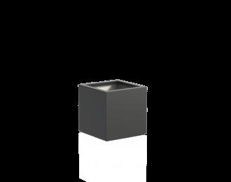Plantenbak 'Buxus' van Adezz vierkant H60 cm