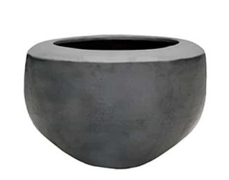 Pot 'Oslo' L antraciet ⌀75 cm H56 cm