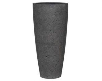 Pot 'Dax' XL lateriet grijs ⌀47 cm H100 cm